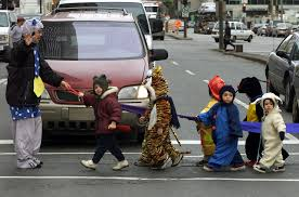 halloween is deadliest day of year for young pedestrians road