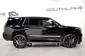 cadillac escalade black rims 2015 cadillac escalade luxury 24inch black dub rims rear seat