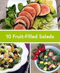 10 creative fruit filled salad recipes by daily burn Garden Salad Ideas
