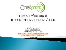 tips on creating a resume writing a resume watoto ebs business seminar