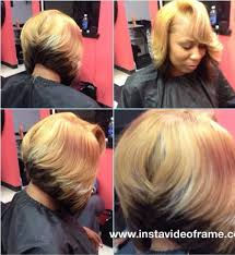 Sew In Bob Hairstyle Trad Sew In Small Leave Out Slight Bob Sewin Styles Pinterest