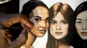 how to paint skin tones in acrylic portraits part 3 youtube