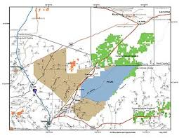 fort carson map piñon maneuver site