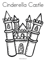 disney castle coloring pages funycoloring