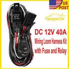 universal fog light wiring harness ebay