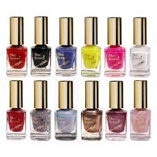 blue heaven xpression nail polish combo set of 12 nails