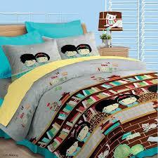 Akemi Bed Linen - akemi fantasia lets reading comforter set lazada malaysia