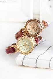 Lady Women s Watch Japan Quartz Fashion Fine Hours Clock Leather