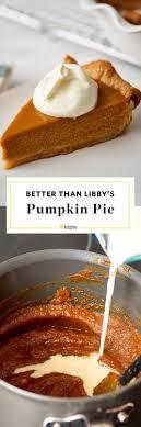 pumpkin pie recipe how to bake pumpkin pie kitchn