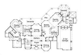 luxury houseplans tuscan home design ohp 991007 19206