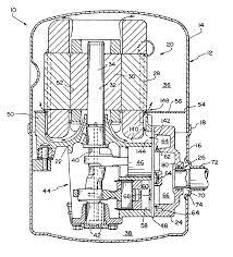 patent us6634870 hermetic compressor having improved motor