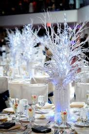 winter theme party at hyatt in cambridge ma with icy snowy