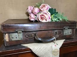 brown leather vintage case vintage brown leather suitcase