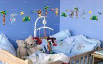 frise adhésive chambre bébé stickers enfant jungle idzif com
