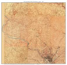 Topographic Map Of Washington by Old Usgs Topo Map Of Montgomery County Maryland
