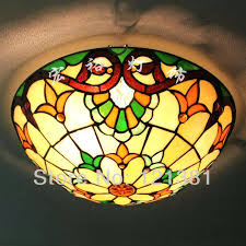 stained glass ceiling light fixtures stained glass ceiling light fixtures vipwines
