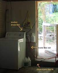 making shift a simple greywater system for the washing machine