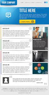 create email newsletter template clean business email newsletter template by ilyasnone graphicriver