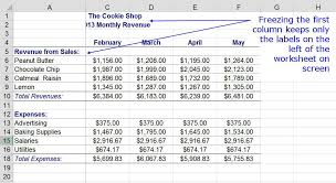 design freeze meaning freeze column and row headings in excel with freeze panes