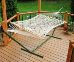 inspirations strong and fully adjustable homemade hammock stand