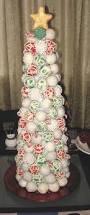 cream christmas trees christmas lights decoration