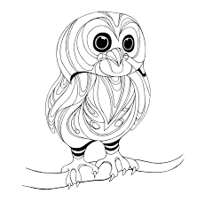 new baby owl coloring pages top design ideas f 578 unknown