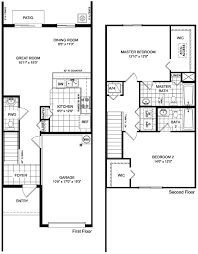 Hubbell Homes Floor Plans Martins Crossing Askew Floor Plan Townhouse Design Pinterest