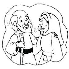abraham and sarah a new home coloring page free download u2026 pinteres u2026