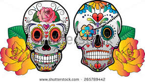 sugar skull vectors free vector stock graphics images