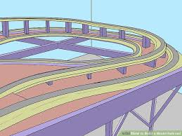 Make Wood Toy Train Track by How To Build A Model Railroad 13 Steps With Pictures Wikihow