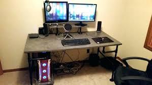 Dual Monitor Computer Desks Dual Monitor Computer Desks Desk And Trends