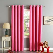Pink Eclipse Curtains Pink Eclipse Curtains Home Grommet Top Thermal Insulated