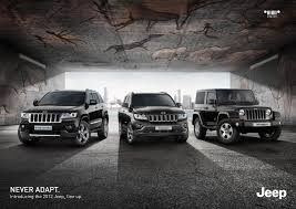 jeep chrysler 2016 jeep chrysler print advert by leo burnett never adapt 1 ads