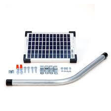 Panel Kit Homes Mighty Mule 5 Watt Solar Panel Kit For Electric Gate Opener Fm121