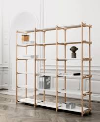 Oak Room Divider Shelves Woody High By Hay Studio Reasonably Priced Shelves With Visible