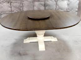 pedestal dining table round contemporary pedestal dining table