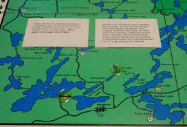 Bwca Map Boundary Waters Canoe Trip Board Game Review Geeky Hobbies