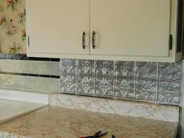 Kitchen Peel And Stick Backsplash Interior Self Stick Backsplash In Great Peel And Stick Vinyl