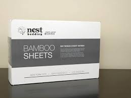 nest bedding bamboo sheets review sleepopolis