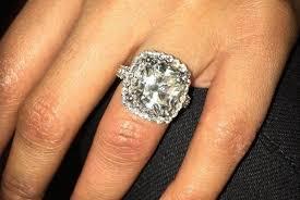 large diamond rings nicki minaj displays diamond ring from boyfriend meek mill upi