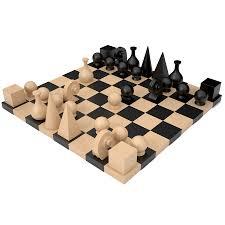 Wooden Chess Set Buy Man Ray U0027s Chess Board Chess U0026 Games
