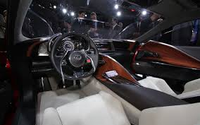 car picker lexus lflc interior images