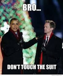 neil patrick harris meets obama weknowmemes