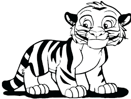 coloring page tigers coloring pages of cute tigers darach info