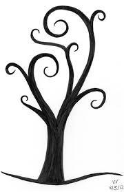 early october tree ninth circle design
