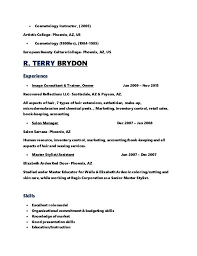 great resume exles 2017 cosmetology books that the gary this is cosmetology instructor resume cosmetologist resume sle