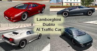 lamborghini truck lamborghini diablo ai traffic car ets 2 euro truck simulator 2 mods