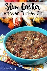 cooker leftover turkey chili recipe
