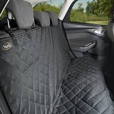 yogi prime black pet seat cover for cars dog car quilted dog hammo