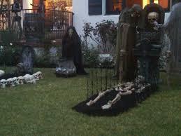 scary halloween yard decorations house design ideas